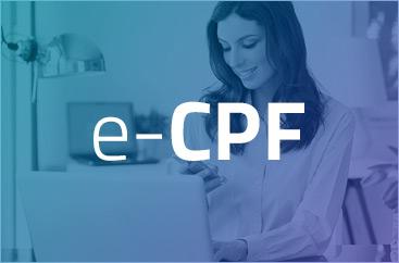 e-CPF Certificado Digital para pessoa física