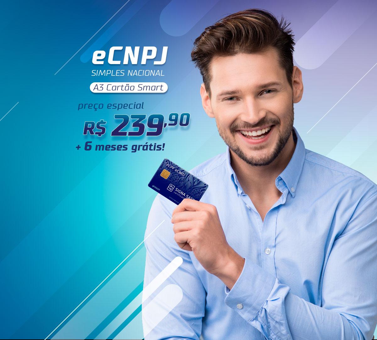Promoção Certificado Digital para CNPJ Simples Nacional R$239,90 18 meses