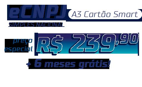 Preço especial eCNPJ Simples Nacional