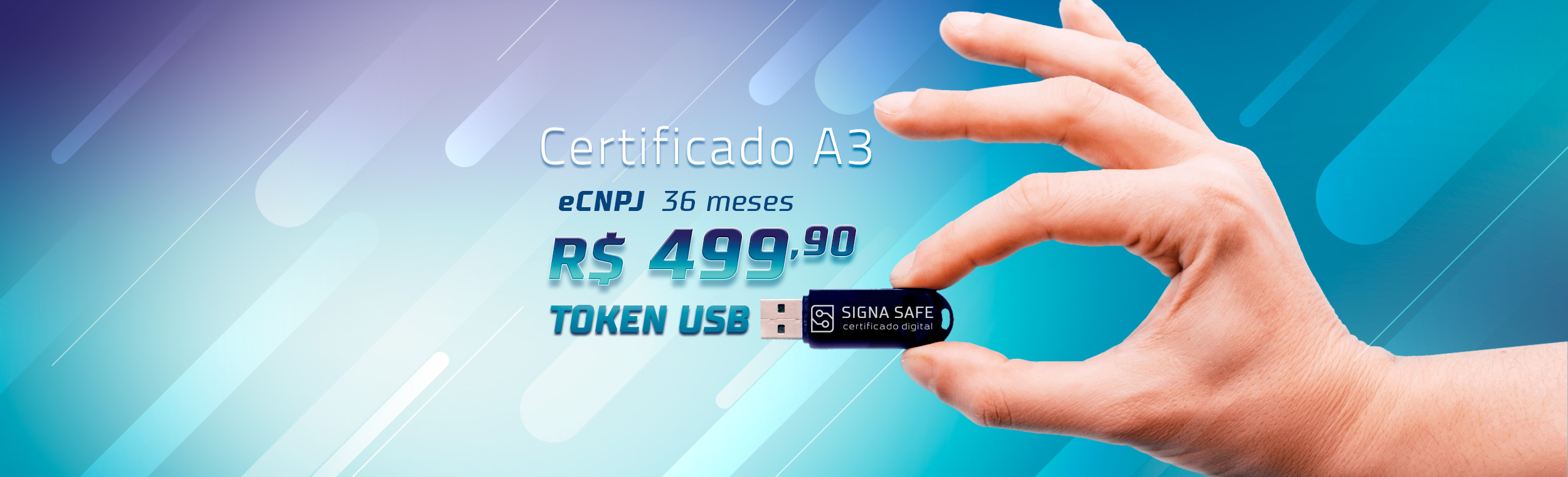 Token Certificado A3 Preço 499