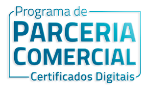 Programa de parceria comercial certificado digital