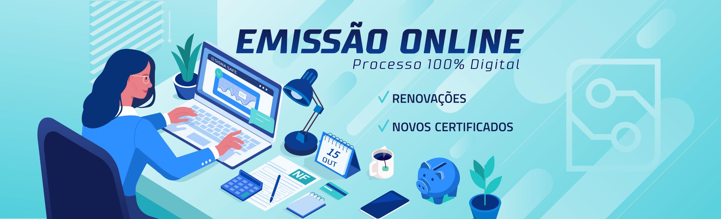 emissão online certificado digital