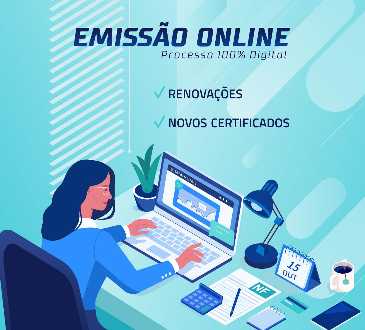 Emissão Online de Certificado Digital